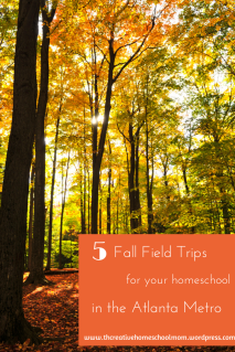 5 Fall Field Trips