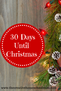 30 Days Until Christmas