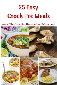 25 Easy Crock Pot Meals